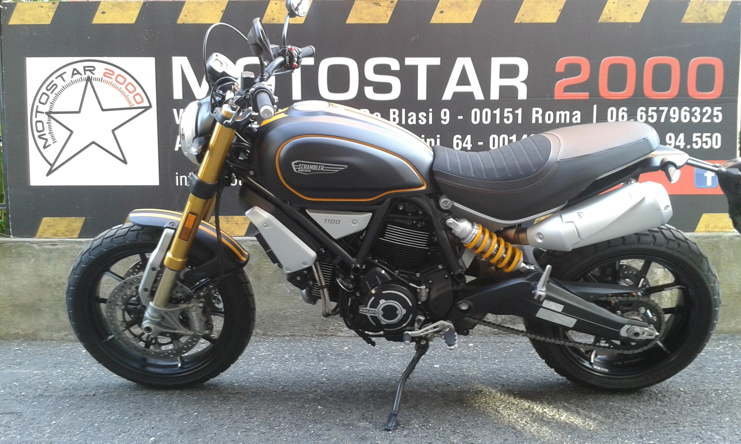 Ducati Scrambler 1100 Motopolis
